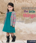 Offspring Kids Wear Dresses 2013 For Winter 6