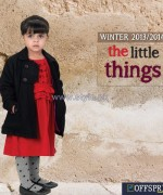 Offspring Kids Wear Dresses 2013 For Winter 8