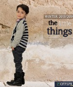 Offspring Kids Wear Dresses 2013 For Winter 9