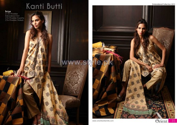 Orient Textiles Kashmiri Khaddar Dresses 2013 Volume 2 For Winter 12