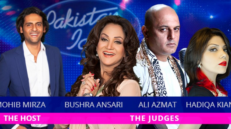 Pakistan Idol judges