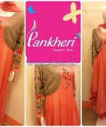Pankheri Party Wear Dresses 2013-2014 For Winter 4