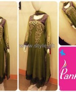 Pankheri Party Wear Dresses 2013-2014 For Women 5