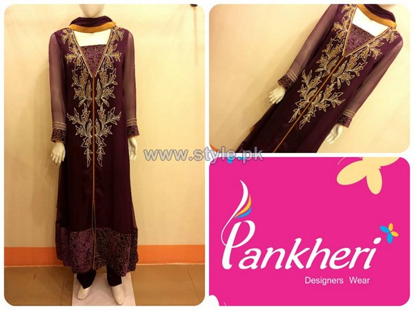 Pankheri Party Wear Dresses 2013-2014 For Women 6