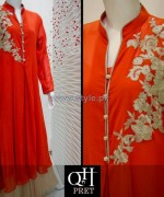 QnH Winter Long Shirt Designs 2013 For Girls 1
