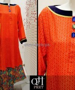 QnH Winter Long Shirt Designs 2013 For Women 6