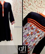QnH Winter Long Shirt Designs 2013 For Women 7