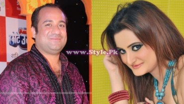 Rahat Fateh Ali Khan and Falak Married
