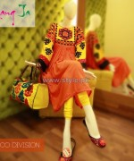 Rang Ja Winter Dresses 2013 For Girls 1