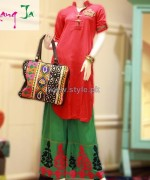 Rang Ja Winter Dresses 2013 For Girls 3