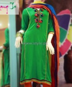 Rang Ja Winter Dresses 2013 For Women 5