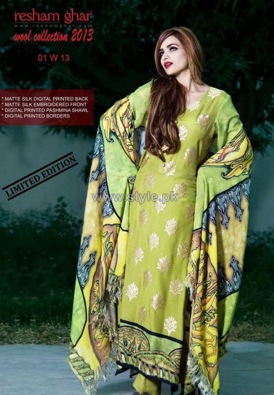 Resham Ghar Winter Wool Collection 2013-2014 For Women 8
