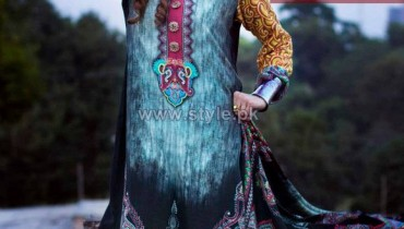 Resham Ghar Winter Wool Collection 2013-2014 For Women 9