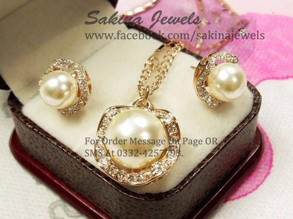 Sakina Jewellery Earring Designs 2013 For Women 005