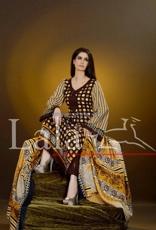 Sana Samia Khaddi Dresses 2013 Volume 3 by Lala Textiles 5