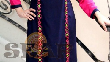 Seap By Sanaa Arif Winter Dresses 2013 For Women 009