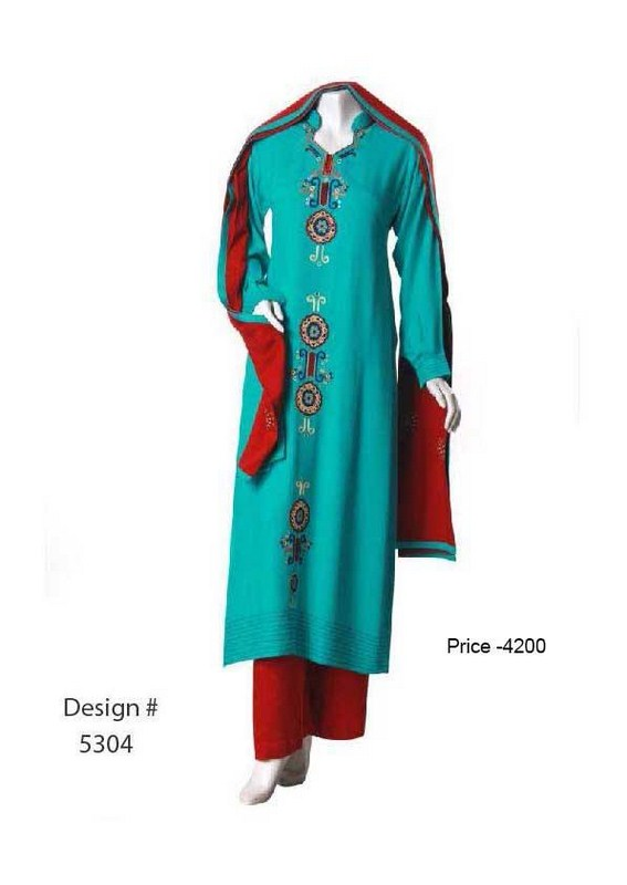 Senorita Fashions Winter Dresses 2013-2014 For Women 003
