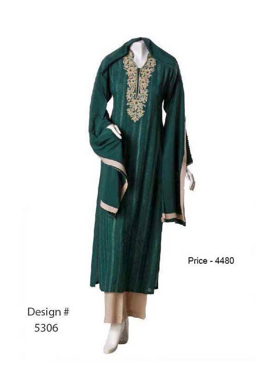 Senorita Fashions Winter Dresses 2013-2014 For Women 007