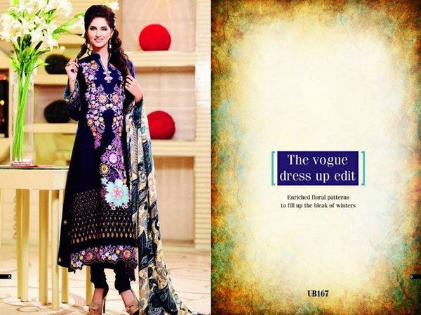 Shaista Cloth Winter Dresses 2013 2014 for Women 001 pakistani dresses