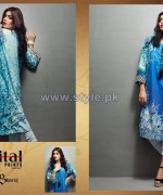 Shariq Textiles Digital Print Shirts 2013 Volume 2 For Girls 3