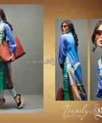 Shariq Textiles Digital Print Shirts 2013 Volume 2 For Girls 5