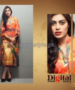 Shariq Textiles Digital Print Shirts 2013 Volume 2 For Women 11