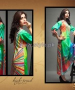 Shariq Textiles Digital Print Shirts 2013 Volume 2 For Women 6
