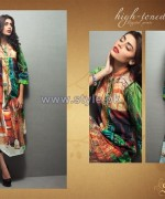 Shariq Textiles Digital Print Shirts 2013 Volume 2 For Women 8