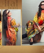 Shariq Textiles Digital Print Shirts 2013 Volume 2 For Women 9
