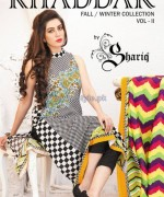 Shariq Textiles Khaddar Dresses 2013 Volume 2 6
