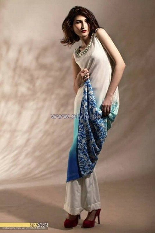 Shehrnaz by Ensemble Party Dresses 2013-2014 For Girls 2