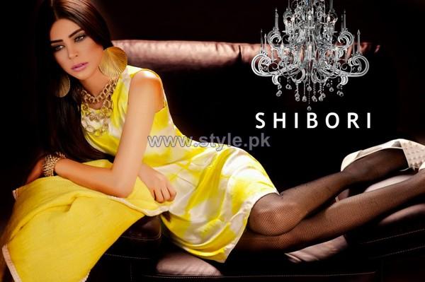 Shibori Western Wear Dresses 2013 For Women5