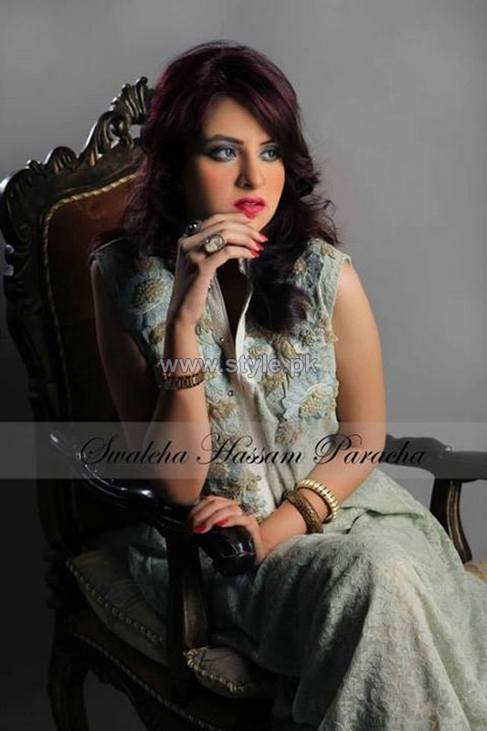 Swaleha Hassan Paracha Winter Dresses 2013 For Women 4