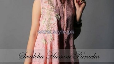 Swaleha Hassan Paracha Winter Dresses 2013 For Women 7