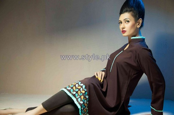 Yasmin Zaman Winter Dresses 2013-2014 For Women 6