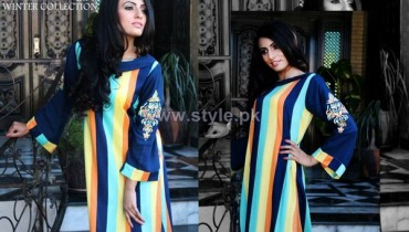 Zayn Rashid Winter Dresses 2013-2014 For Women 6