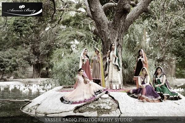 Aamir Baig Bridal Dresses 2013-2014 For Women 003
