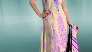 Al Hamra Textiles Chiffon Dresses 2013-2014 For Women