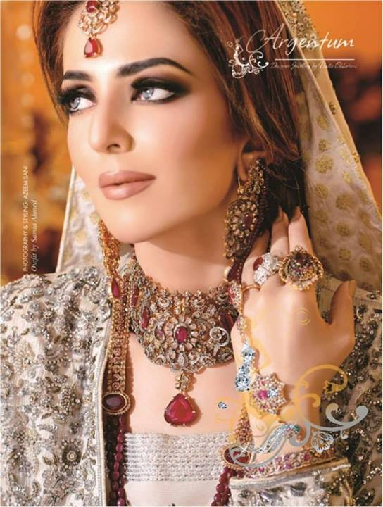 Argentum by Nadia Chottani Bridal Jewellery 2014 for Ladies