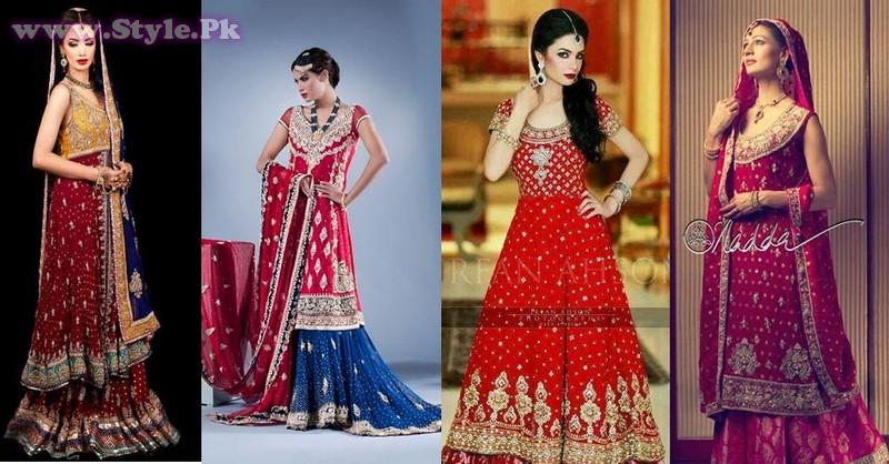 Barat Dresses 2014 For Girls009 style exclusives new fashion fashion trends bridal dresses