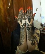 Bridal Mehndi Designs 2014 For Women 0014 150x180 new fashion mehandi fashion trends