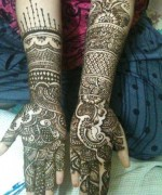 Bridal Mehndi Designs 2014 For Women 0027