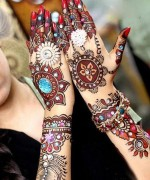 Bridal Mehndi Designs 2014 For Women 005