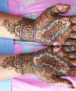 Bridal Mehndi Designs 2014 For Women 011