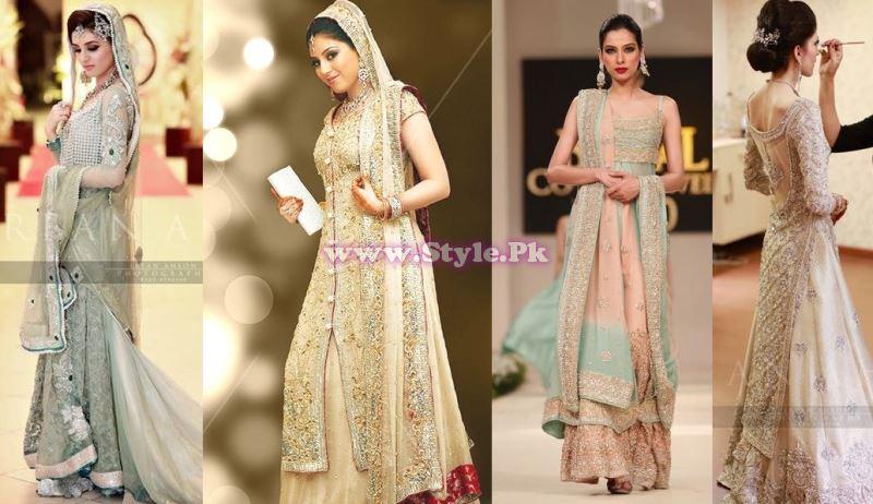 Bridal Walima Dresses 2014 In Pakistan