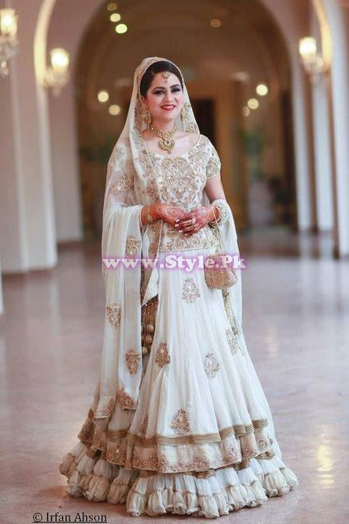 Bridal Walima Dresses 2014 In Pakistan 007