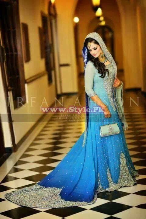Bridal Walima Dresses 2014 In Pakistan 009