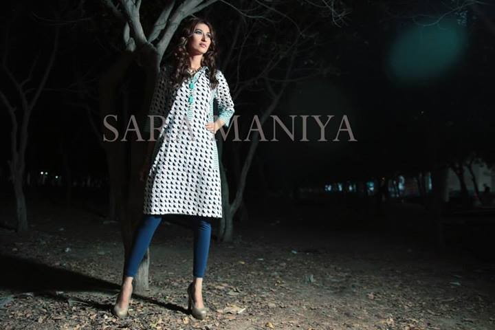 Casual Wear Dresses for Winter 2014 by Sara Maniya