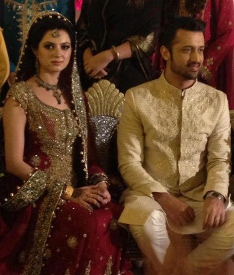 Celebrity Wedding 2013-Atif Aslam