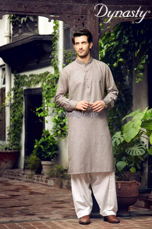 Dynasty Fabrics Menswear Dresses 2014 For Winter 6